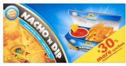 El Sabor Nacho'n Dip nacho chips paradicsomos mártogatóval 175g