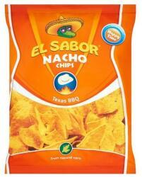 El Sabor Barbeque ízű nacho chips 100g