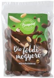 Biopont Bio tejcsokoládés földimogyoró drazsé 80g