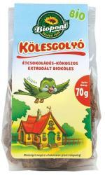 Biopont Bio fehércsokoládés-kókuszos kölesgolyó 70g