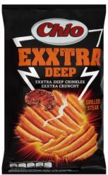 Chio Exxtra Deep steak ízű chips 125g