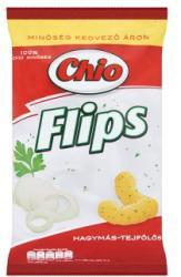 Chio Flips hagymás-tejfölös kukoricasnack 55g