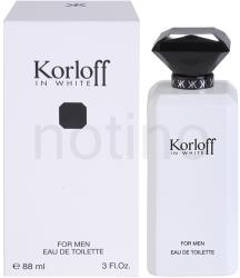 Korloff In White EDT 88ml
