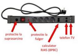 Adeleq 5 Plug + TV/TEL 1,5m (31-152/2)