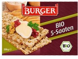 Burger Bio 5 magos lapkenyér 250g