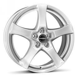 Borbet F brilliant silver CB66.06 5/114.3 17x7 ET50