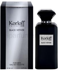 Korloff Private Black Vetiver EDT 88ml