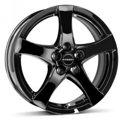 Borbet F black glossy CB57.06 5/112 17x7 ET35