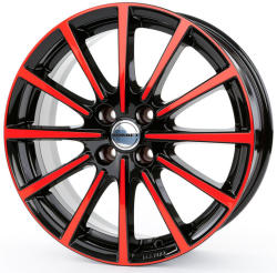 Borbet BL4 black red glossy 4/100 15x6.5 ET35