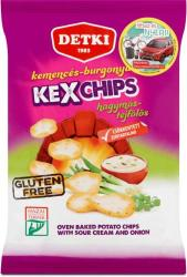 DETKI Kex Chips hagymás-tejfölös burgonyasnack 75g