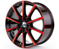 Borbet BL5 black red glossy 5/112 18x8 ET50