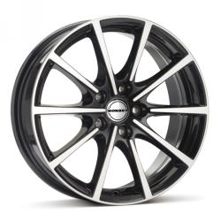 Borbet BL5 black polished 5/114.3 16x7 ET40