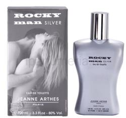 Jeanne Arthes Rocky Man Silver EDT 100ml
