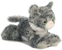 Aurora Mini Flopsie - Lily, a szürke cirmos cica 20cm