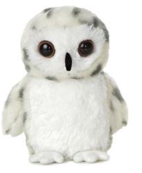 Aurora Mini Flopsie - Snowy, a bagoly 20cm