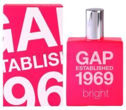 GAP Established 1969 Bright EDT 30ml