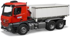 BRUDER Camion Mercedes-Benz Arocs cu container Abroll (3622)