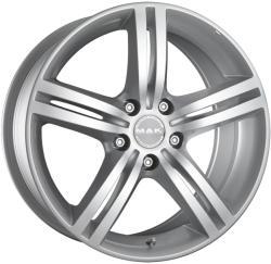 Mak Veloce Silver CB56.6 5/105 15x6 ET39