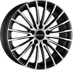 Mak Starlight Ice Black CB66.6 5/112 17x7.5 ET30