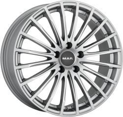Mak Starlight Silver CB66.6 5/112 18x7.5 ET52