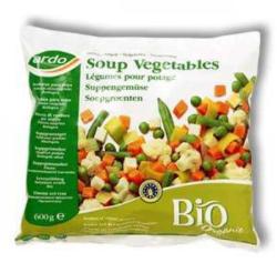 Ardo Bio gyorsfagyasztott zöldségleves mix (600g)