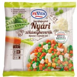 Fevita Gyorsfagyasztott nyári zöldségkeverék (450g)