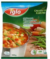 Iglo Kreatív Konyha gyorsfagyasztott minestrone zöldségkeverék (500g)