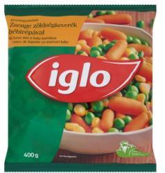 Iglo Gyorsfagyasztott zsenge zöldségkeverék bébirépával (400g)