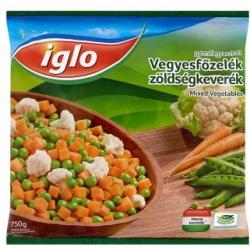 Iglo Gyorsfagyasztott vegyesfőzelék zöldségkeverék (750g)