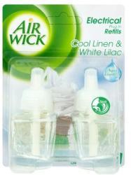 Air Wick Electrical Plug In Cool Linen & White Lilac utántöltő (2x19ml)