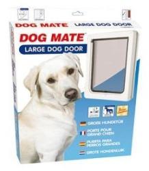 Dog Mate 216w Nagyméretű Kutyaajtó Fehér