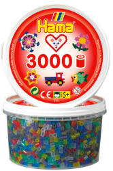 Hama Midi gyöngy 3000db-os - átlátszó mix