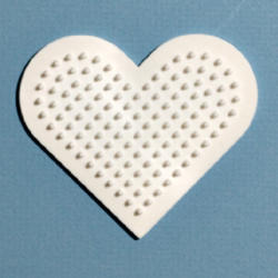 Hama Midi kis szív sablon