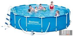 Bestway Miami Sand fémvázas medenceszett homokszűrős vízforgatóval 427x100cm (FFA 193)