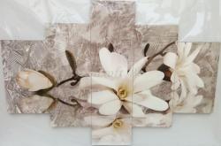 Többrészes falikép - Vanília