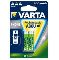 VARTA Phone AAA 800mAh (2)
