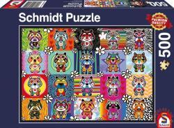 Schmidt Spiele Tantan and Momo 500 db-os (58215)