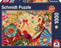 Schmidt Spiele Vintage Liebesbriefe 1000 db-os (58218)