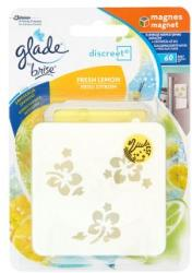Glade Discreet Magnet Fresh Lemon mágneses légfrissítő (8g)