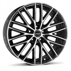 Borbet BS5 black polished 5/108 17x7.5 ET40