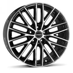 Borbet BS5 black polished 5/112 16x7 ET50