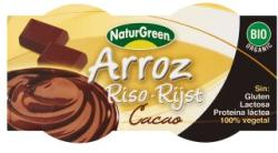 NaturGreen Bio csokoládés rizsdesszert 2x125g