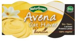 NaturGreen Bio vaníliás zabdesszert 2x125g