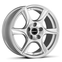 Borbet TL brilliant silver CB63.4 5/108 16x6.5 ET50