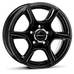 Borbet TL black glossy CB57.06 5/100 14x5 ET35