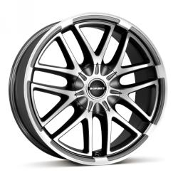 Borbet XA mistral anthrarcite polished matt CB65.1 5/120 20x9 ET55