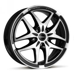 Borbet XB black polished CB57.06 5/112 17x7 ET54