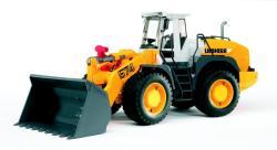 BRUDER Tractor Liebherr 574 cu incarcator frontal articulat (2430)