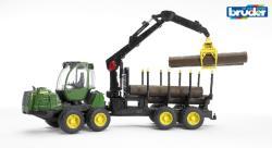 BRUDER Tractor forestier John Deere 1210E (2133)