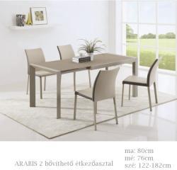 HALMAR Arabis 2 bővíthető étkezőasztal